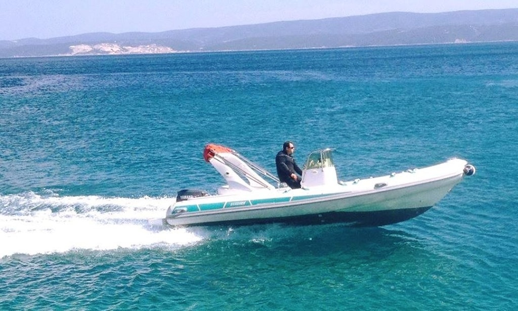 stingher rigid-rent a boat-omiš