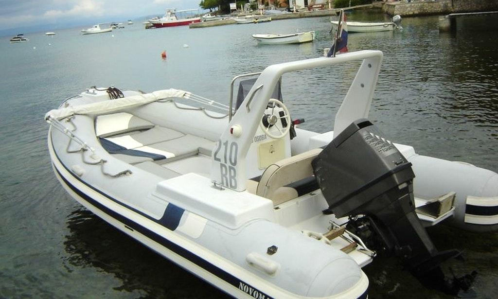 rib rent a boat