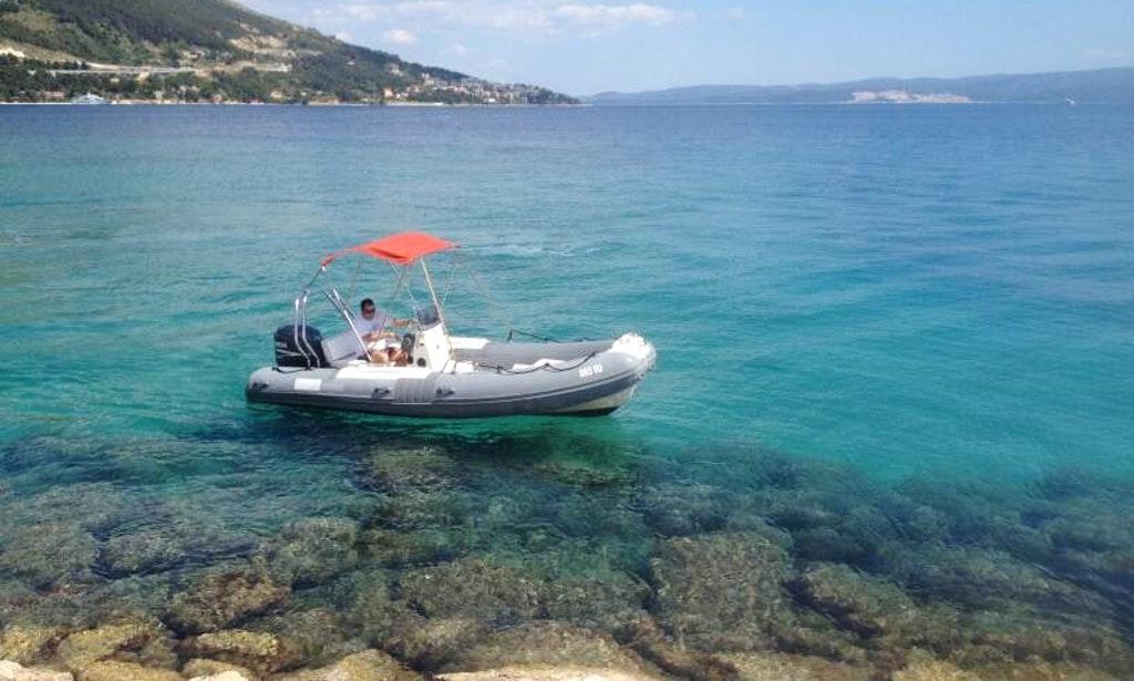 california rigid-rent a boat-omiš